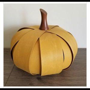 Longaberger Woven Pumpkin in Gold (Yellow)